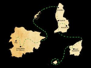 kleine landen tour